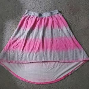 Girls size 10/12 Hi-low skirt